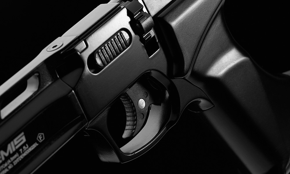 Wiatrówka pistolet CO2 ARTEMIS CP400 magazynek spust